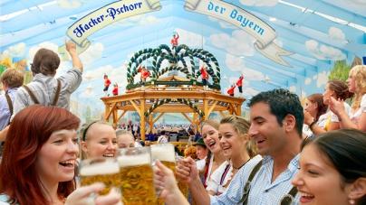 В Германии стартовал знаменитый Октоберфест