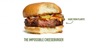 Impossible Foods привлёк $108 млн на сделанные из растений котлеты и сыры