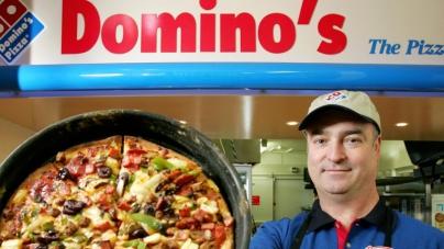 Квартальная выручка сети пиццерий Domino's Pizza выросла на 12%