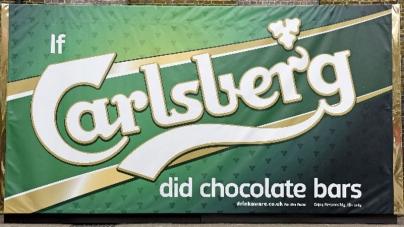 Если бы Carlsberg делал шоколад: пивной бренд создал временный бар из настоящего шоколада!