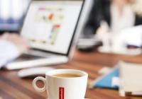 Кофе Rombouts в офисе