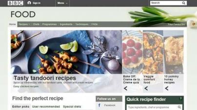 BBC закроет кулинарный сайт с 11 000 рецептов