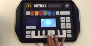 McDonald's запустил приложение для превращения подноса в диджейский пульт
