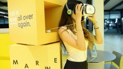 McDonald's установил стенды с VR-очками и бесконтактной зарядкой в Сингапуре