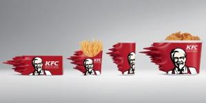 KFC в Таиланде выпустил лимитированную сверхскоростную упаковку