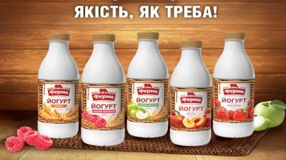 Новые йогурты ТМ «Ферма» со злаками и фруктами