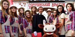 Молочный бренд «Ферма» поразил масштабом стенда на «Сорочинской ярмарке» 2016