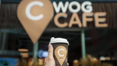 В Киеве открылось еще одно WOG CAFE