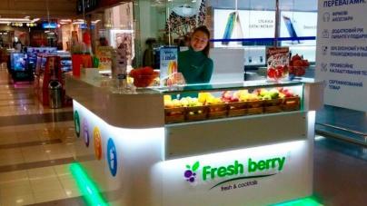 Остров-бар Fresh berry открылся в ТРК Солнечная Галерея