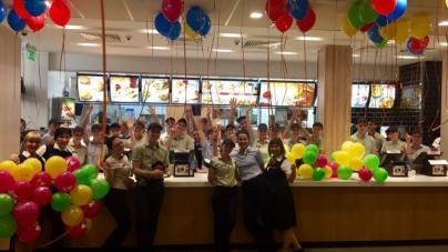 McDonald's в Запорожье открылся после реконструкции