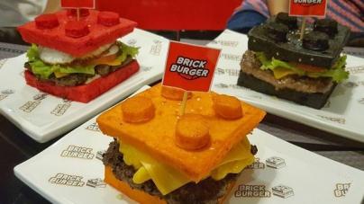 Ресторан на Филиппинах выпускает LEGO бургеры