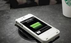 Кофейни Starbucks оборудуют беспроводными зарядками для новых айфонов