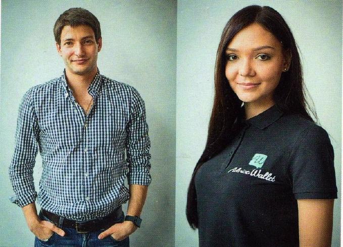 Основатели стартапа: Стас Матвиенко и Анна Полищук