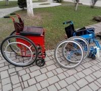 Відремонтовані візки в рамках проекту «Поставити на колеса». Фото: www.urbanspace.if.ua
