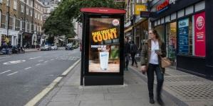 Burger King увеличил количество клиентов за счет динамической наружной рекламы в Лондоне