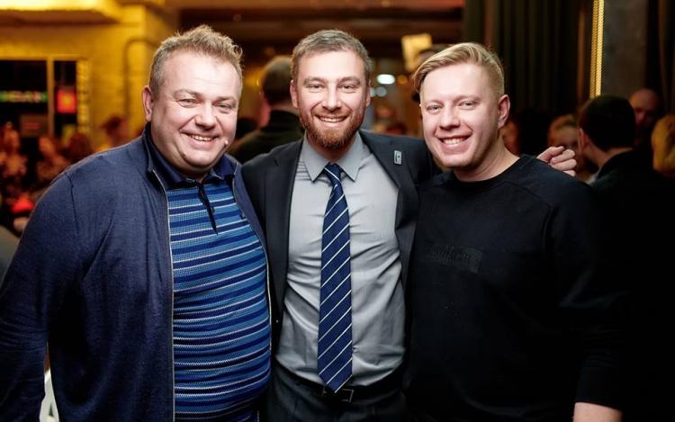 Тарас Середюк, Вадим Бортник (Fresh line) и Александр Савилов (Salateira)