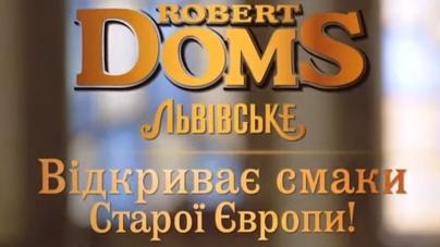 Robert Doms презентує новинку – Robert Doms Golden Ale