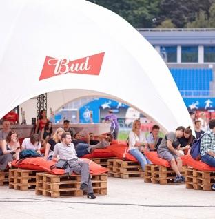 «Король пива» BUD поддержал самый музыкальный фестиваль UPark 2018