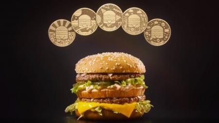 McDonald's выпустил серию монет MacCoin в честь 50-летия Биг Мак