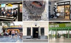 Обзор ресторанов и кафе: McDonald's, Реберня, Mister Cat, Veterano Coffee, Pesto Cafe и Naprosecco