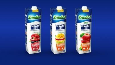 Бренд Sandora® компанії PepsiCo Україна представив серію інноваційних соків та нектарів «Фрукти цілі»