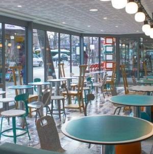 В Париже появился дизайнерский McDonald's