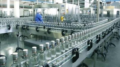 В Украине сократилось производство водки