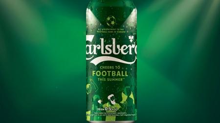 Carlsberg випускає лімітований дизайн банки на честь футбольних вболівальників